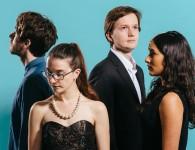 The Ligeti Quartet by MIKE MASSARO