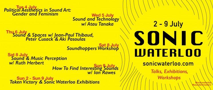 Sonic Waterloo Talks SLIDER