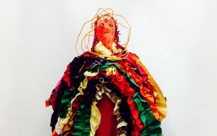 Madonna Vagina by Paola de Ramos detail